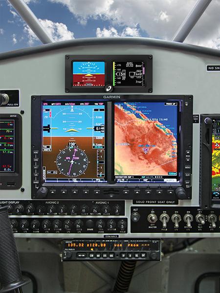 husky aircraft 750 GTN radio package