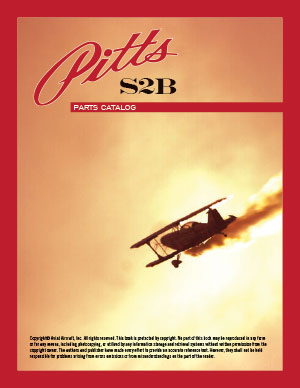 Pitts Aircraft S2B Parts Catalog