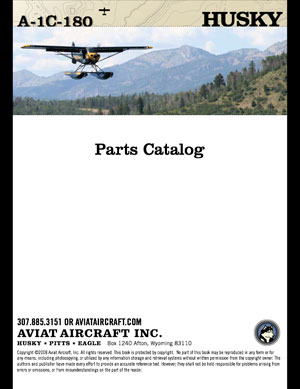 Husky Parts Catalog A-1C 180 HP