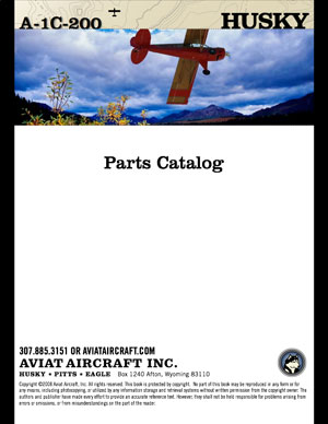 Husky A-1C 200 HP Parts Catalog