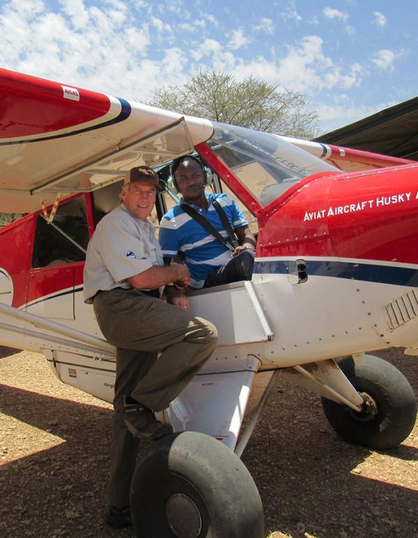africa bush plane