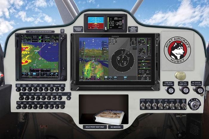 Husky Aircraft Aspen IFR Radio Package